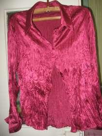 Блузка красная женская, в г.Николаев