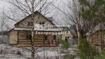 Дом на участке с березами и соснами, в Москве