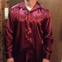 Рубашка мужская шелковая, в Москве
