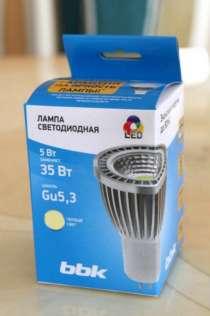 Интерьерная LED лампа MR-16 5Вт. BBK BBK, в Челябинске