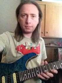 Запись гитары, в Москве
