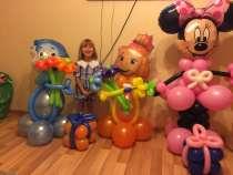 Воздушные шары с гелием, фигуры из шаров, в Краснодаре
