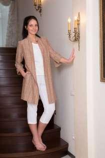 Туника женская 100% лен вышивка стежок марки LOOK, в Владивостоке
