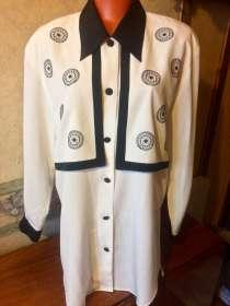 Элегантная белая блузка 54/56, в Санкт-Петербурге