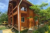 Дом из бруса для круглогодичного проживания, в г.Евпатория