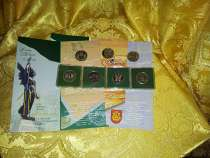 Монеты Литвы 10 лит 1993, 94, 95, 98, 99, 2002г PROOF 7штук, в Санкт-Петербурге