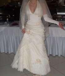 Свадебное платье и шубка, в Мытищи
