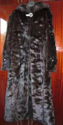 шубу норка р.44-46,с капюшоном, в Хабаровске
