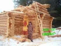 Срубы домов ручной рубки, в Казани