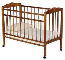 Прокат, детская кроватка с матрасиком, в Барнауле