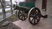 Копия старинной пушки, в Новосибирске