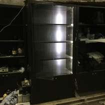 Шкаф для элитного алкоголя с подсветкой, в Волгограде
