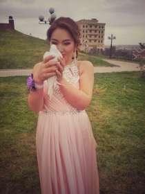 Продам шикарное вечернее платье из сатина, в г.Астана