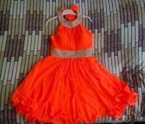 Продам яркое выпускное платье, в Краснодаре