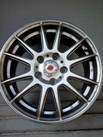Продаются литые колесные диски GR, r15, сверловка, в Краснодаре