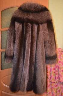 Шуба Енотовая, фабричного пошива, в Абакане