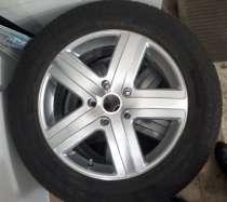 Колеса с всесезонной резиной на VW Touareg, в Кургане