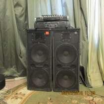 Продам комплект звуковой аппаратуры 400/, в Кемерове