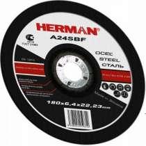 Абразивный отрезной круг HERMAN STANDART 125х1,0х22,23мм, в Дмитрове