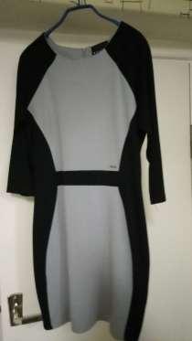 Платье серое с черными вставками MOHITO COLLECTION новое, L, в Волжский