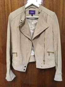 Кожаный пиджак MEXX куртка, в Москве