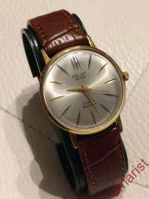 Часы POLJOT De Luxe, позолота, ручной завод, 1970-е г. г, в Балашихе