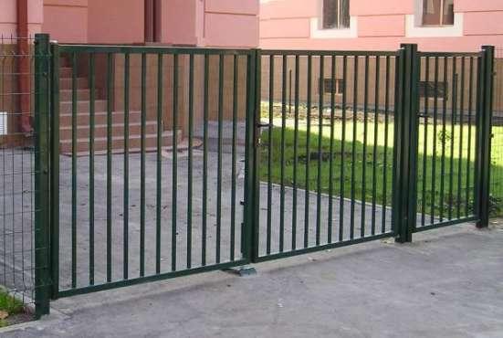 Распашные ворота и калитки