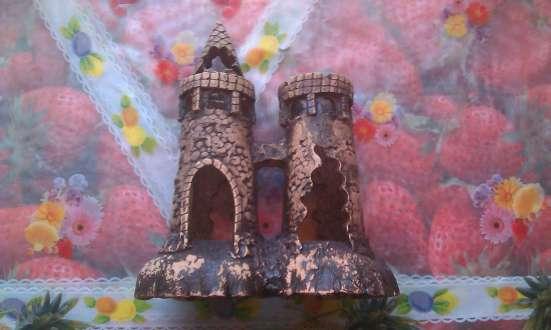 Замок для аквариума!