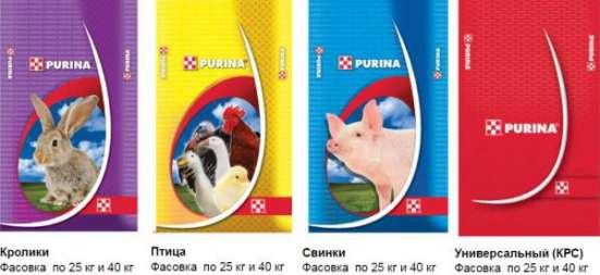 Комбикорма и концентраты тм PURINA для С\Х животн.и птиц в Владикавказе Фото 1