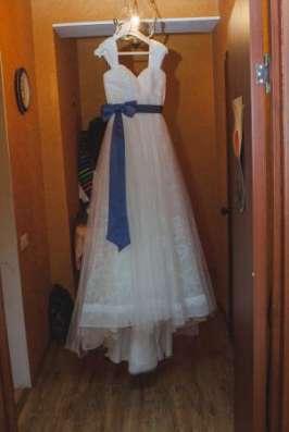 Шикарное свадебное платье San Patrick