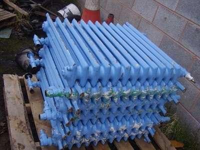 Принимаем на металлолом радиаторы отопления чугунные
