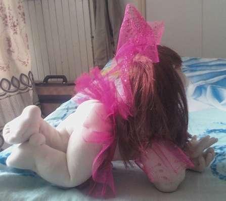 Малышка - ручная работа