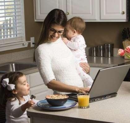 Заработок через интернет для мам в декрете, студентов