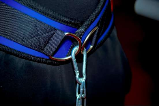 Пояс нейлоновый с цепью для отягощения