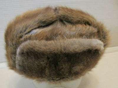 меховую шапку Лиса