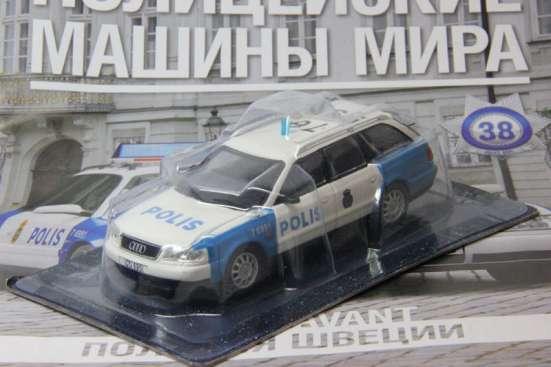 полицейские машины мира №38 AUDI A6 AVANT полиция швеции в Липецке Фото 1
