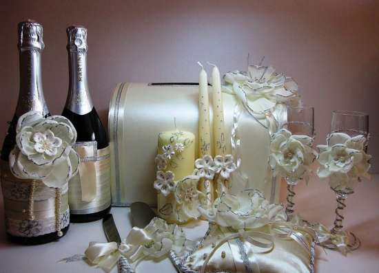 Свадебные аксессуары ручной работы в г. Новокубанск Фото 3