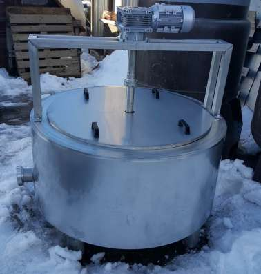 Ванна сырная, объем 300 литров, с пароводяным нагревом, терм в Москве Фото 2