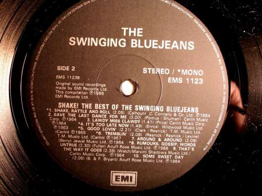 Пластинка The Swinging Blue Jeans - The Best Of(UK) в Санкт-Петербурге Фото 1