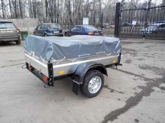 Оцинкованный прицеп для легкового автомобиля 1850х1200