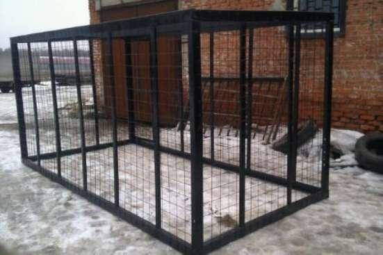 Вольеры для собак и животных в Красноярске Фото 3