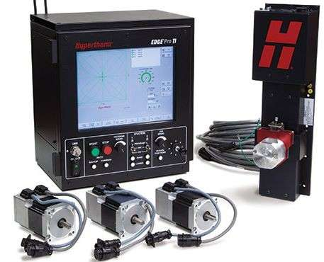 Ремонт HYPERTHERM ЧПУ CNC EDGE Pro HPR HyPrecision