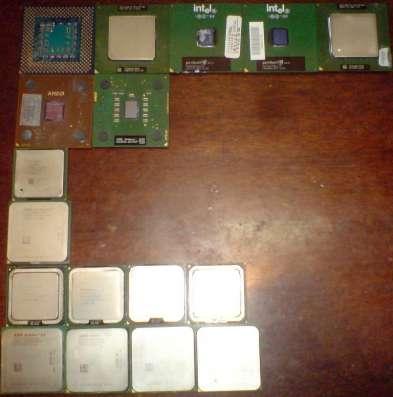 Процессоры в ассортименте