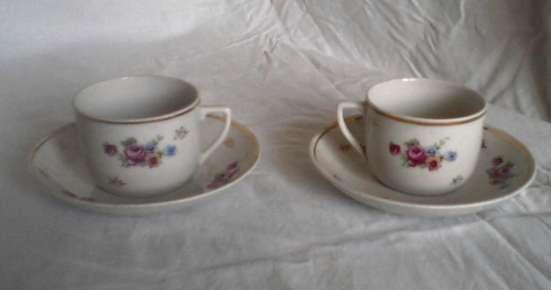 Чайные пары старинные