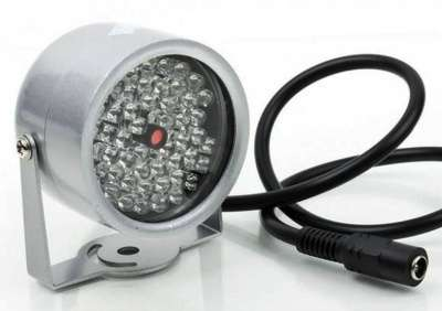 ИК-прожектор уличный 48 ИК-диодов