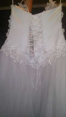 свадебное платье красивое белое свадебное 46-48 размер в Рязани Фото 1