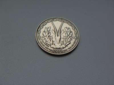 Монета 10 Франков Западная Африка 1971 год в Москве Фото 1