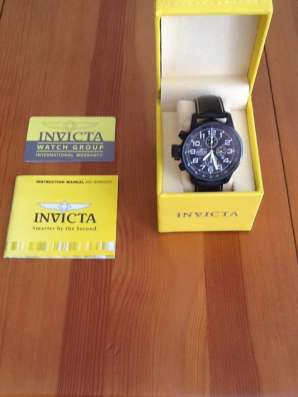 Новые часы Invicta force3332 в Москве Фото 1