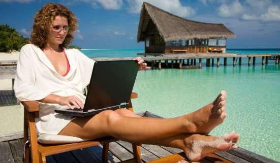 Работа через интернет на дому