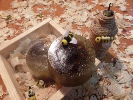 Роскошное питательное медовое мыло с ромашкой для самой неж